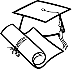 Graduation How To Draw Diploma And Cap Coloring Pages