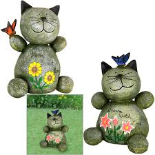 cat garden statue sweet sentiment cat garden statue the animal rescue site