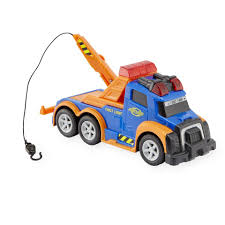 Fast Lane Lights And Sounds 6 Inch Vehicle - Tow Truck - Toys