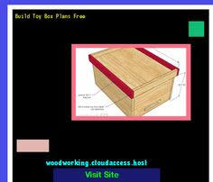 build your own toy box plans 201948 woodworking plans and