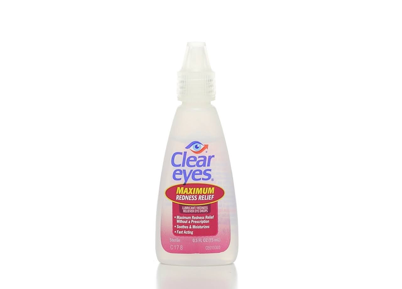 Clear Eyes Maximum Redness Relief Eye Drops - 0.5oz