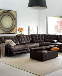Sectional Living Room Ideas by Best 25 Leather Sectional Sofas Ideas On Pinterest Living Room