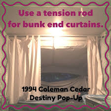 Spring Loaded Curtain Rods Uk by Best 25 Camper Curtains Ideas On Pinterest Camper Trailer