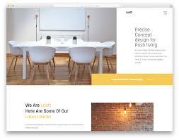 100 Home Design Magazine Free Download Loaft Modern Website Template 2019 Colorlib