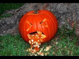 Vomiting Pumpkin Dip by Pumpkin Idea 3 Throwing Up Pumpkin Youtube