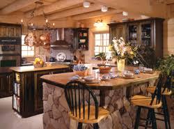 Rustic Country Kitchen ViewthisPlan