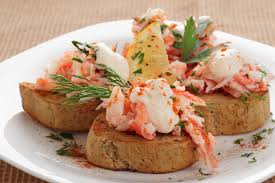 crab canapes easy recipes that use crab for delicious meals