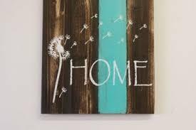 Home Pallet Sign Dandelion Rus 10 Barn Wedding Decor Ideas