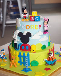 Mickey Mouse Clubhouse 3 tier cake b a k i n g ♡