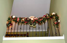 Decor You Adore: Mantels, Garlands & Vignettes-a Quick Way To Add ... Christmas Decorating Ideas For Porch Railings Rainforest Islands Christmas Garlands With Lights For Stairs Happy Holidays Banister Garland Staircase Idea Via The Diy Village Decorations Beautiful Using Red And Decor You Adore Mantels Vignettesa Quick Way To Add 25 Unique Garland Stairs On Pinterest Holiday Baby Nursery Inspiring The Stockings Were Hung Part Staircase 10 Best Ideas Design My Cozy Home Tour Kelly Elko