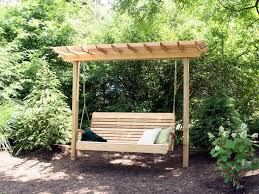 Porch Swing Plans With Stand Decor Kimberly Porch and Garden