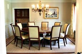 Round Dining Room Tables Seats 8 Table For Best White