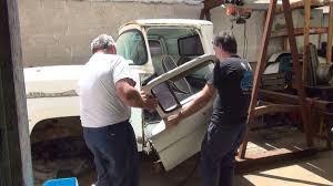 100 Bucket Truck Repair 1958 Ford 103 F100 Truck Repair Rebuild Pickup Rust Bucket By Tatro