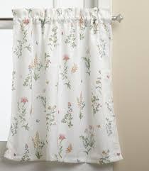 Small Bathroom Window Curtains Amazon by Amazon Com English Garden Insert Valance Home U0026 Kitchen