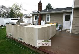 Simple L Shaped Outdoor Kitchen Custom Kitchens 2014 On Deck