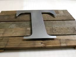 Make a Rustic Wall Plaque with Metal Craft Letters