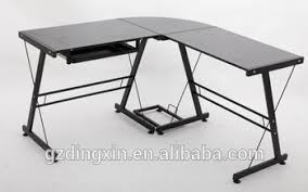 Tempered Glass Computer Desk by Modern Tempered Glass Desk Office Computer Table Models Dx 402c