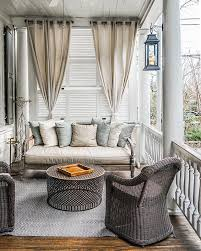 Vinyl Patio Curtains Outdoor by Best 25 Screened Porch Curtains Ideas On Pinterest Outdoor