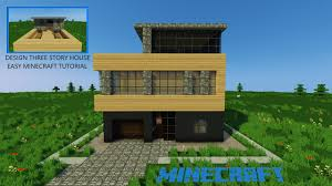 100 Three Story Houses Design House Tutorial Minecraft YouTube