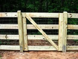 Split Rail Fence Gate Design