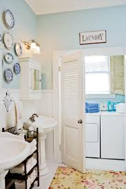 Orange Camo Bathroom Decor by 65 Calming Bathroom Retreats Southern Living