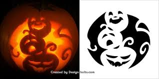 Scariest Pumpkin Carving Patterns by 10 Free Scary Halloween Pumpkin Carving Patterns Stencils