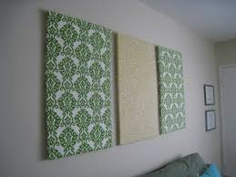 Interesting Diy Fabric Wall Art Pictures Best Inspiration Home For Current Framed