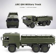 100 Military Truck JJRC Q64 1 16 24g 6wd RC Car Rock Crawler Car