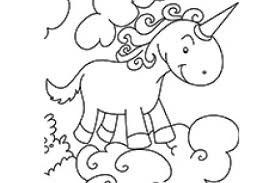 Vector Gallery Basic Unicorn Drawing Drawings Art Sketch Easy Pictures Cute Icon Illustration Design How To Draw Animals