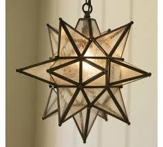 olivia indoor outdoor star pendant pottery barn