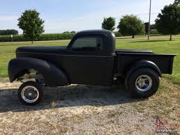 Willys : Pick-Up Gasser Style 1951 Willys Pickup 1950 Jeep Truck Hot Rod Network 1959 Classic Pick Up For Sale For Sale 1958 For Classiccarscom Cc758445 1955 Willys Jeep Truck Youtube Craigslist Jamies 1960 The Build 1953 Cc9102 Heritage Station Wagon Photo Gallery Trucks Ewillys Page 6