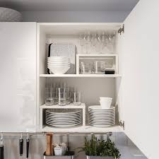 knoxhult küche hochglanz weiß 180x61x220 cm