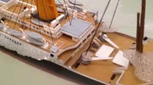 revell 1 400 rms titanic sinking slowmotion youtube