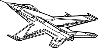 Free Cartoon Airplane Coloring Pages Page Plane Sheets For Toddlers Full Size
