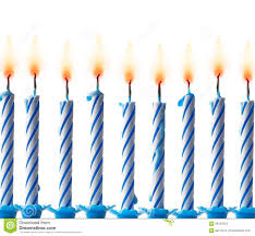 Candle clipart row 7