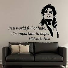 uytrew rockmusik tanz king of pop michael jackson kopf porträt mj tänzer zitate wandaufkleber schlafzimmer studio band home decoration