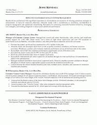 Sample Call Center Manager Resume Cute Supervisor Example Good