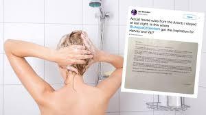 airbnb user postet foto dreisten badezimmer