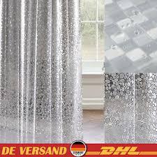 möbel wohnen transparent duschvorhang badewannenvorhang