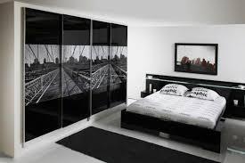 Black And White Bedroom Interesting Black And White Interior