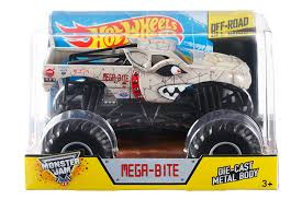 Amazon.com: Hot Wheels Monster Jam Mega Bite Die-Cast Vehicle, 1:24 ... How To End Summer Boredom With Hot Wheels Monster Trucks Dazzling Walmart Holiday Edition Jam Grave Digger Unboxing Rc Ford Raptor Walmart Compare Prices At Nextag 124 Diecast Ironman Vehicle Slickdealsnet Power Ford F150 Purple Camo To Build Big Fun Anywhere Truck Toys Kidtested List Reveals The Top 25 For 2015 Walmartcom Amazoncom New Disney Cars 2 Wally Hauler L Lightning Mcqueen Lego Batman Toy Clearance My Momma Taught Me These Will Be Most Popular Of Season The Outlaw Wheel Electric Rc Stuff