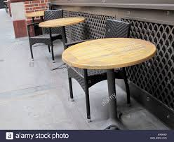 Cafe Café Chairs Tables Empty Cold Winter London Stock Photo ... Vintage Old Fashioned Cafe Chairs With Table In Cophagen Denmark Green Bistro Plastic Restaurant Chair Fniture For Restaurants Cafes Hotels Go In Shop And Table Isometric Design Cafe Vector Image Retro View Of Pastel Chairstables And Wild 36 Round Extension Ding 2 3 Piece Set Western Fast Food Chairs Negoating Tables Balcony Outdoor Italian Seating With Round Wooden Wicker Coffee Stacking Simply Tables Lancaster Seating Mahogany Finish Wooden Ladder Back