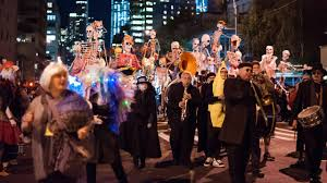 Greenwich Village Halloween Parade Street Closures by Defiant New Yorkers Parade On Halloween Despite Truck Attack Youtube