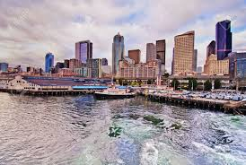 100 Beautiful Seattle Pictures A View Of Downtown Stock Photo Picture And