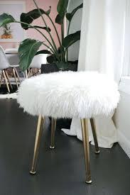 Fluffy White Chair Cheap