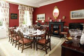 Georgian Dining Room by Milton House