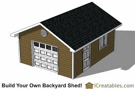 Diy Storage Shed Plan by 16x20 Shed Plans Build A Large Storage Shed Diy Shed Designs