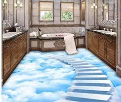 tapete für boden wolken trittleiter bad boden schlafzimmer