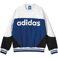 adidas 25 blocked crew sweatshirt adidas wear