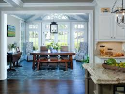 Kitchen Dining Room Traditional With Addition Top Standardsunroom Standard Height Tables Sunroom Furniture